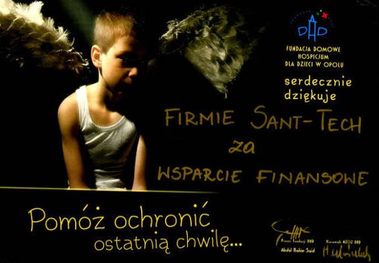 Wspieramy Domowe Hospicjum dla Dzieci w Opolu