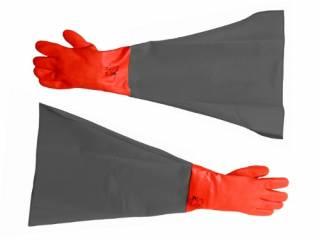 Rękawice do piaskarek kabinowych